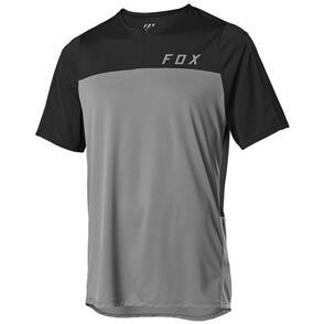 FOX RACING 2020 FLEXAIR ZIP SS JERSEY [PEWTER]