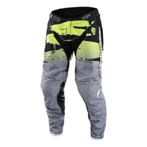 TROY LEE DESIGNS 2022 YOUTH GP PANT BRUSHED BLACK / GLO GREEN