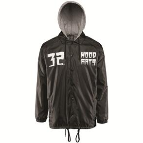 THIRTY TWO HOOD RATS HOODED COACH JACKET [BLACK]