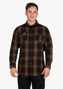 UNIT SHIRT - FLANNEL - NEWTOWN ORANGE