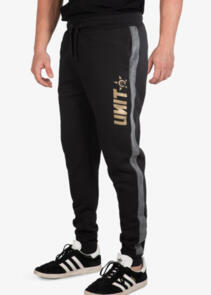 UNIT TRACK PANTS (CUFFED) - EXPRESS  BLACK