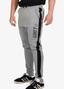 UNIT TRACK PANTS (CUFFED) - EXPRESS  GRY MARL
