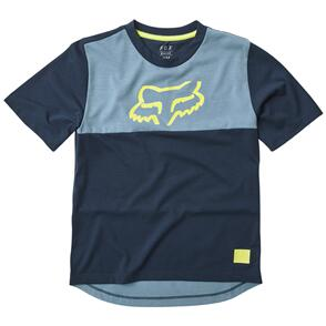 FOX RACING YOUTH RANGER DR SS JERSEY [NAVY]