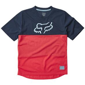 FOX RACING YOUTH RANGER DR SS JERSEY [BRIGHT RED]