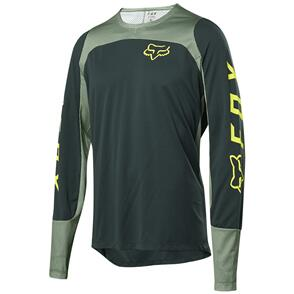 FOX RACING 2021 FOX DEFEND LS FOX JERSEY [EMERALD]