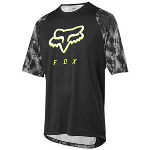 FOX RACING 2021 DEFEND SS ELEVATED JERSEY [BLACK]
