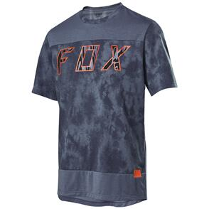 FOX RACING 2021 DEFEND SS ELEVATED JERSEY [BLUE STEEL]