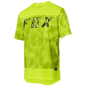 FOX RACING 2021 RANGER DR ELEVATED SS JERSEY [DAY GLO YELLOW]