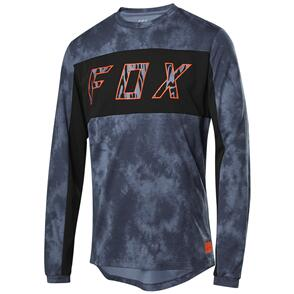 FOX RACING 2021 RANGER DR LS ELEVATED JERSEY [BLUE STEEL]