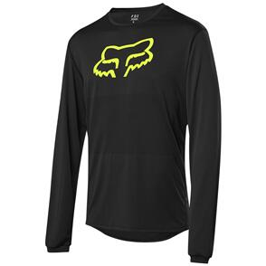 FOX RACING 2021 RANGER LS FOXHEAD JERSEY [BLACK]