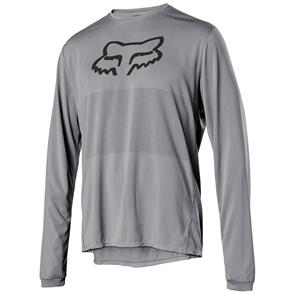 FOX RACING 2021 RANGER LS FOXHEAD JERSEY [STEEL GREY]