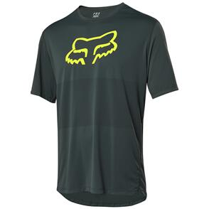 FOX RACING 2021 RANGER SS FOXHEAD JERSEY [EMERALD]