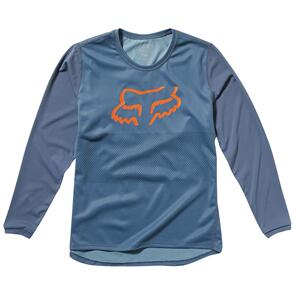 FOX RACING FOX YOUTH RANGER LS JERSEY [BLUE STEEL]