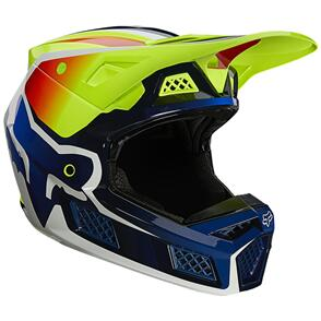FOX RACING 2021 V3 RS WIRED HELMET ECE [FLO YELLOW]