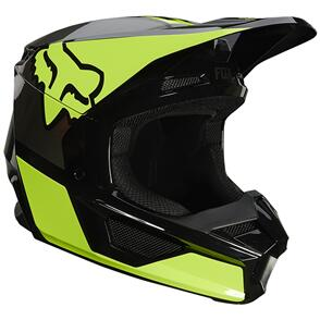 FOX RACING 2021 V1 REVN HELMET ECE [FLO YELLOW]