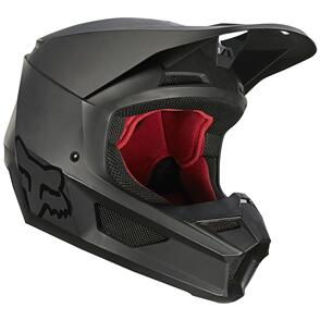 FOX RACING 2021 V1 MATTE HELMET ECE [MATTE BLACK]