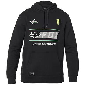 FOX RACING FOX PRO CIRCUIT PULLOVER CREW FLEECE [BLACK]