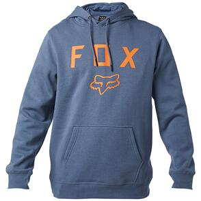 FOX RACING FOX LEGACY MOTH PULLOVER FLEECE HOODY [BLUE STEEL]