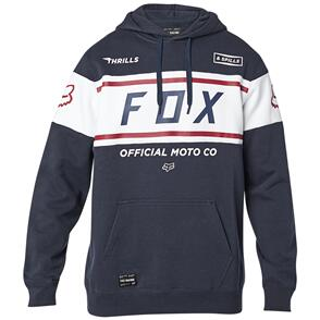 FOX RACING FOX OFFICIAL PULLOVER FLEECE HOODY [MIDNIGHT]