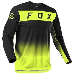 FOX RACING 2021 FOX LEGION JERSEY [FLO YELLOW]