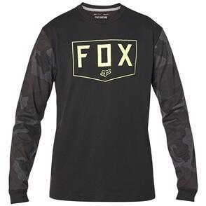 FOX RACING FOX SHIELD LS TECH TEE [BLACK CAMO]