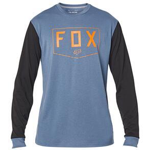 FOX RACING FOX SHIELD LS TECH TEE [BLUE STEEL]