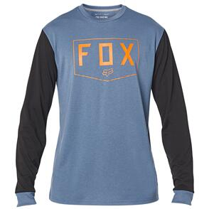 FOX RACING FOX TOURNAMENT LS TECH TEE [HEATHER GRAPHITE]