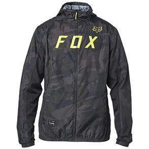 FOX RACING 2021 MOTH CAMO WINDBREAKER JACKET [BLACK CAMO]