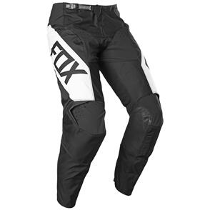 FOX RACING 2021 YOUTH 180 REVN PANTS [BLACK/WHITE]