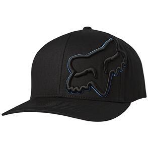 FOX RACING FOX EPISCOPE FLEXFIT HAT [BLACK/BLUE]