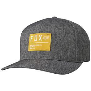 FOX RACING FOX NON STOP FLEXFIT HAT [BLACK/YELLOW]