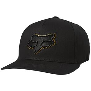 FOX RACING FOX YOUTH EPICYCLE 110 SNAPBACK HAT [BLACK/YELLOW]