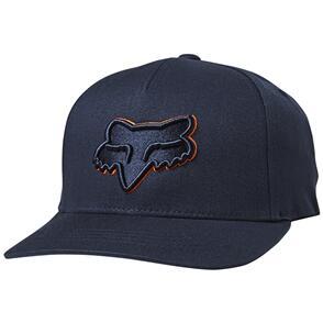 FOX RACING FOX YOUTH EPICYCLE 110 SNAPBACK HAT [NAVY/ORANGE]