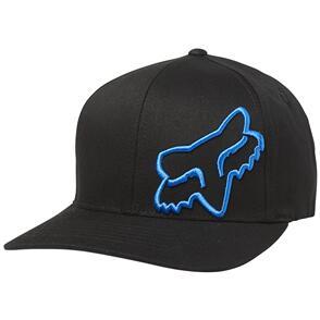 FOX RACING FOX FLEX 45 FLEXFIT HAT [BLACK/BLUE]