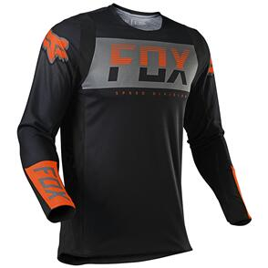 FOX RACING 2021 360 AFTERBURN JERSEY [BLACK]