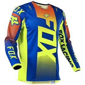 FOX RACING 2021 180 OKTIV JERSEY [BLUE]