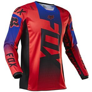 FOX RACING 2021 180 OKTIV JERSEY [FLO RED]