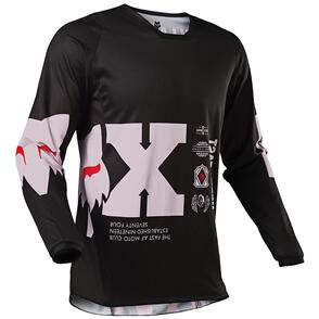 FOX RACING 2021 180 ILLMATIK JERSEY [BLACK]