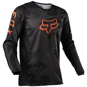 FOX RACING 2021 180 TREV JERSEY [BLACK CAMO]