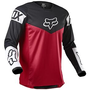 FOX RACING 2021 YOUTH 180 REVN JERSEY [FLAME RED]
