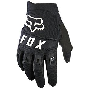 FOX RACING 2021 YOUTH DIRTPAW GLOVES [BLACK/WHITE]