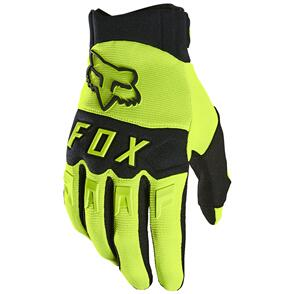 FOX RACING 2021 DIRTPAW GLOVES [FLO YELLOW]