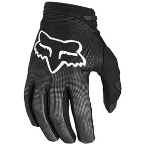 FOX RACING 2021 WOMENS 180 OKTIV GLOVES [BLACK/WHITE]