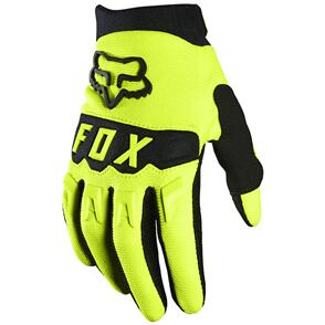 FOX RACING 2021 YOUTH DIRTPAW GLOVES [FLO YELLOW]