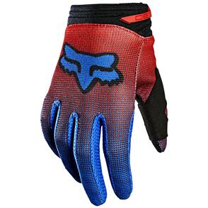 FOX RACING 2021 YOUTH 180 OKTIV GLOVES [FLO RED]