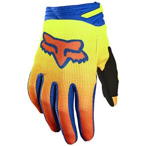 FOX RACING 2021 YOUTH 180 OKTIV GLOVES [FLO YELLOW]