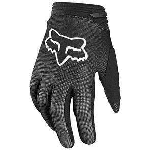 FOX RACING 2021 YOUTH GIRLS 180 OKTIV GLOVES [BLACK/WHITE]