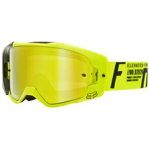 FOX RACING 2021 VUE RIGZ GOGGLES SPARK [FLO YELLOW]
