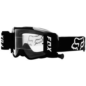 FOX RACING 2021 VUE STRAY ROLL OFF GOGGLES [BLACK]