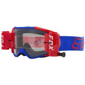 FOX RACING 2021 VUE STRAY ROLL OFF GOGGLES [BLUE]